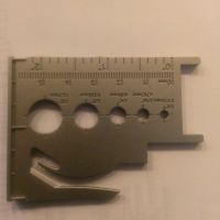 letter opener measurement tools insert storage card slot
